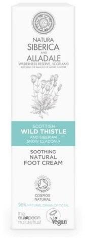 Siberica Professional Professional, Soothing Natural Foot Cream, naturalny wygładzający krem do stóp, 75 ml