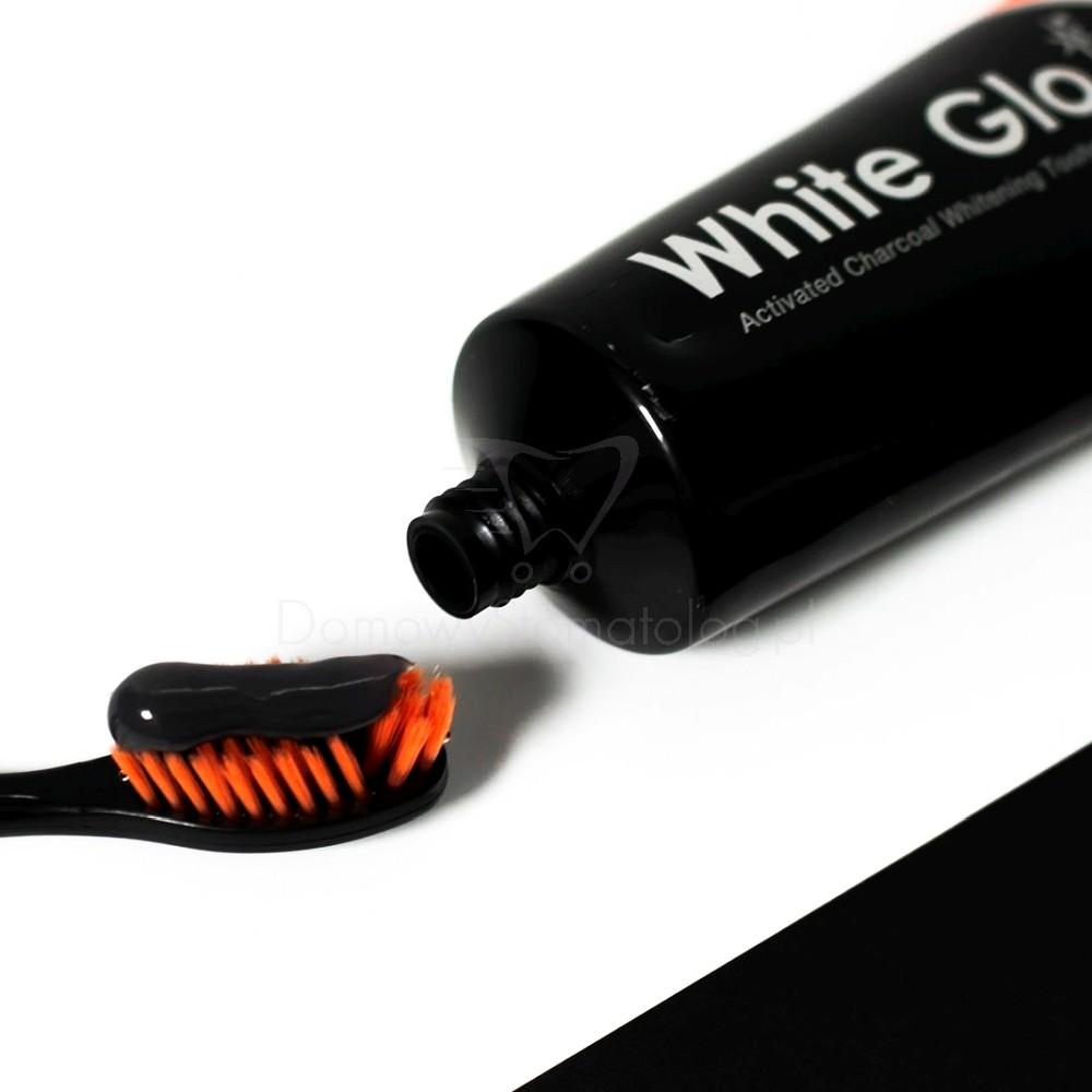 White Glo White Glo Deep Stain Remover Charcoal - wybielająca pasta do zębów z węglem 100 ml 1754-uniw