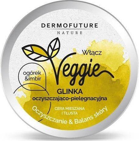 DermoFuture Oczyszczająca glinka do cery tłustej i mieszanej Ogórek& Imbir 150 ml 5901785006155