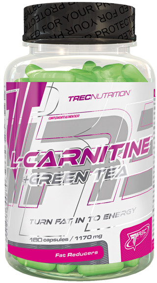 Trec Nutrition L-Carnitine + Green Tea 180kap (5614)