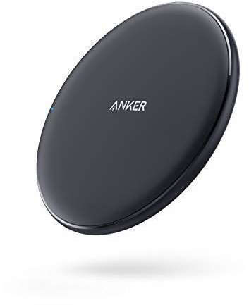 Anker PowerPort Wireless 10, Qi-Certified Wireless Charging Pad for iPhone 8/8Plus, iPhone X, Samsung Galaxy S9/S9+, and other Devices, Provides Fast-Charging for Galaxy S8/S8+/S7/S7 AK-A2503011