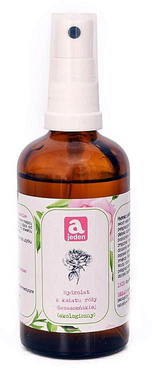 Ajeden Ajeden Hydrolat Z Kwiatu Róży Damaceńskiej, 100 ml E45A-939D1