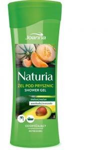 Joanna Naturia Refreshing Shower Gel odświeżający żel pod prysznic Melon & Awokado 300ml