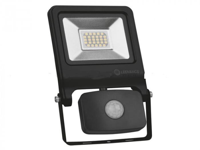 Ledvance OSRAM Naświetlacz LED z czujnikiem 10W barwa neutralna 800lm czarny OSRAM 268685