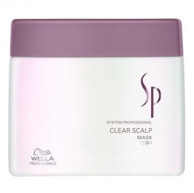 Wella SP SP CLEAR SCALP Maska Przeciwłupieżowa 400ml SALE 0000054323