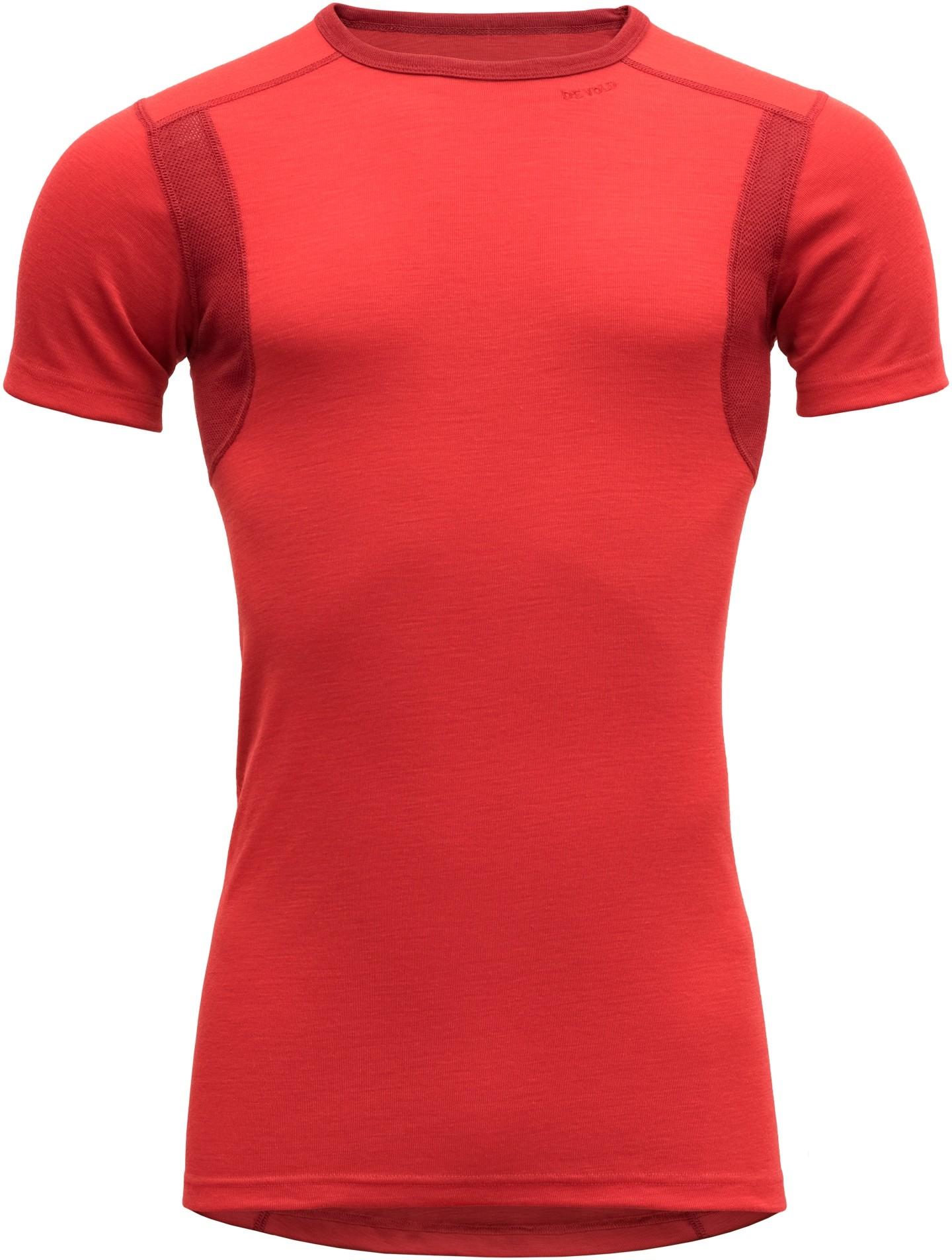 Devold Hiking Man T Shirt Chilli L