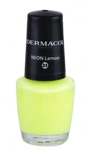Dermacol Neon lakier do paznokci 5 ml 33 Neon Lemon