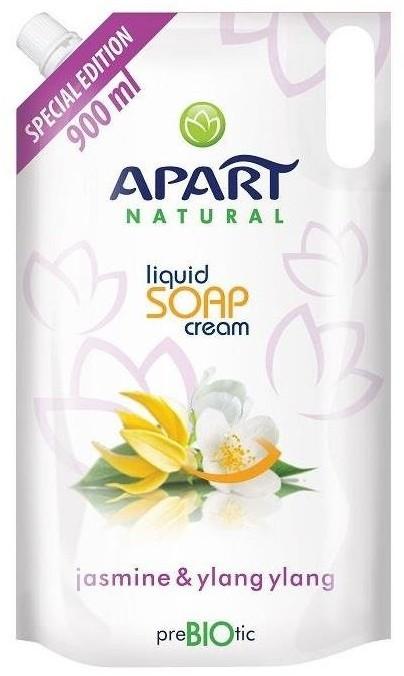 Apart NATURAL Prebiotic Refill kremowe mydło w płynie Jasmine & Ylang Ylang 900ml 81124-uniw