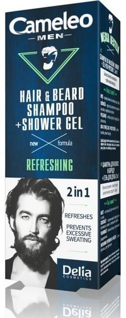 Delia Cameleo Men Szampon i żel pod prysznic dla mężczyzn 150ml 56949-uniw