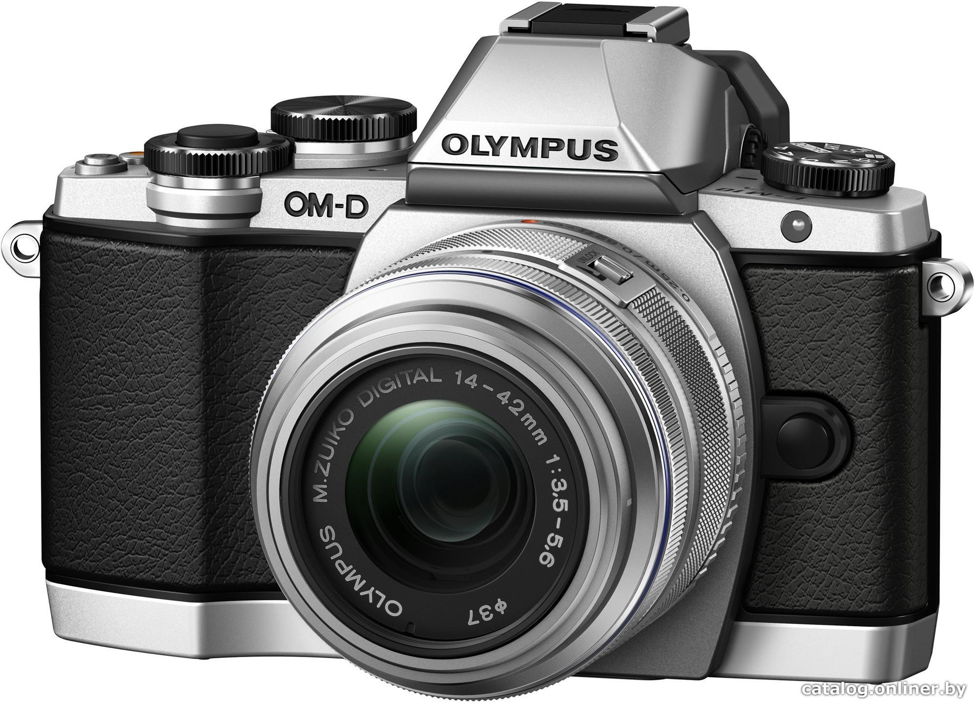 Olympus OM-D E-M10 Mark II + 14-42mm srebrny (V207052SE000)