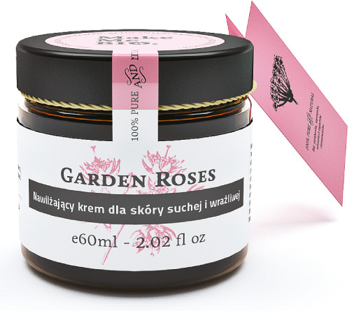 Make Me Bio dla Nawilżający krem skóry suchej i wrażliwej GARDEN ROSES 60 ml