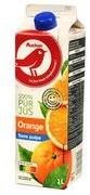 Auchan - Sok pomarańczowy bezpośrednio wyciśnięty z owoców