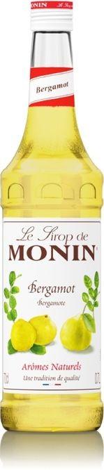 Monin Syrop BERGAMOT 0,7 l bergamotka 3052911425783