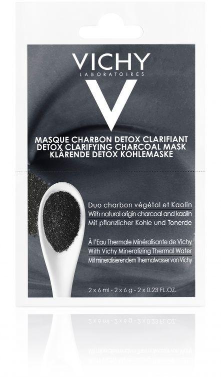 Vichy Maseczka detoksykująca z węglem 2 x 6 ml