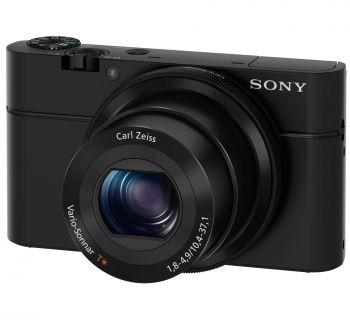 Sony Cyber-shot DSC-RX100 czarny (DSCRX100.CEE8)