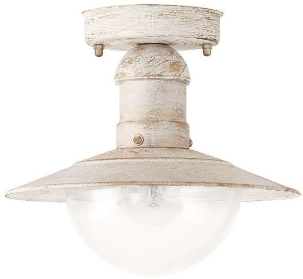 Rabalux Zewnętrzna LAMPA sufitowa OSLO 8716 ogrodowa OPRAWA industrialna outdoor IP44 czarna 8716