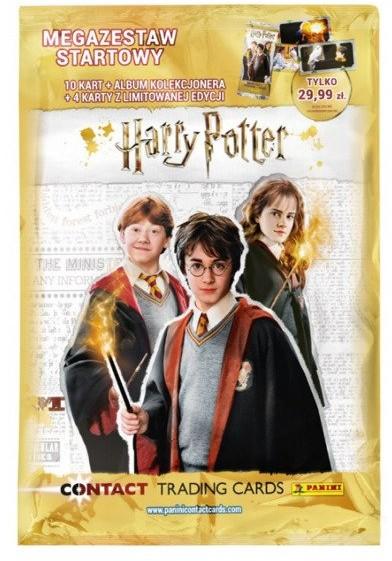 Panini Harry Potter Mega Zestaw Startowy Album Kolekcjonera 09643