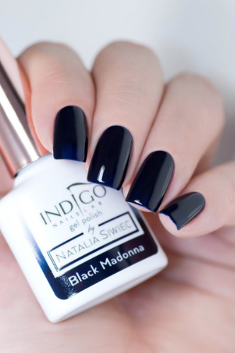 Indigo Indigo Black Madonna Gel Polish by Natalia Siwiec 7ml INDI16
