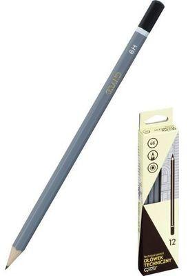 Ołówek techniczny B 12 sztuk KW TRADE