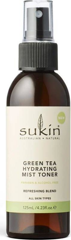 Sukin Sukin Sukin Nawilżająca mgiełka tonizująca Hydrating Mist Toner Green Tea 125ml SUK07262