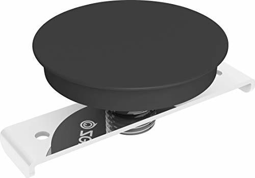 Zens Wbudowana bezprzewodowa ładowarka powierzchniowa z certyfikatem Qi 5 W czarna, adapter i wiertło w zestawie, łatwa instalacja - Współpracuje ze wszystkimi telefonami z bezprzewodowym ładowaniem ZEBI01B00