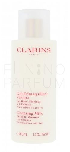 Clarins Cleansing Milk With Gentian mleczko do demakijażu 400 ml dla kobiet