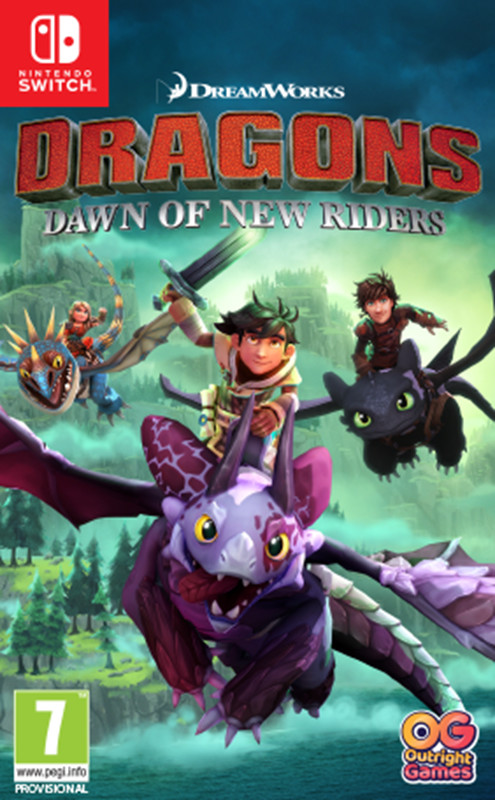 Dragons Dawn of New Riders NSWITCH