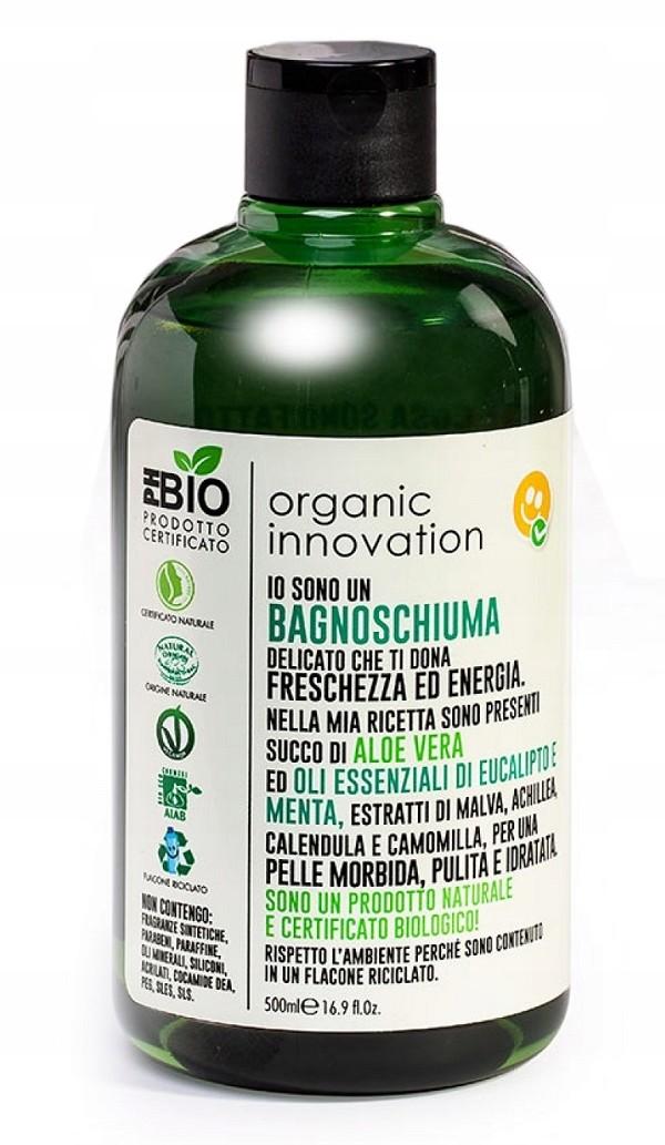 Organic Innovation żel Mięta i Eukaliptus 500ml