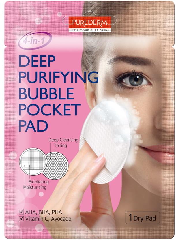Purederm PUREDERM koreański oczyszczający płatek do twarzy ADS387