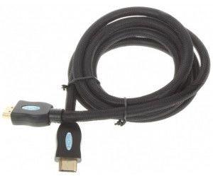 Kabel HDMI Premium V1.3 1080p m/m 1,8 m powlekany do Sony PlayStation 3 PS3 (czarny)