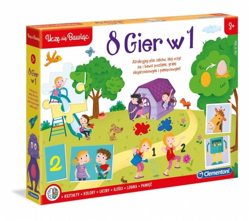 Clementoni Edukacyjny zestaw 8w1