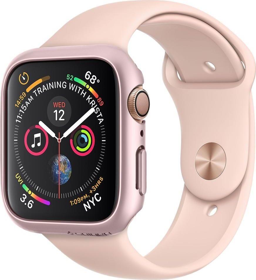 Spigen Thin Fit Apple Watch 4/5 40MM Rose Gold uniwersalny SPN900RS
