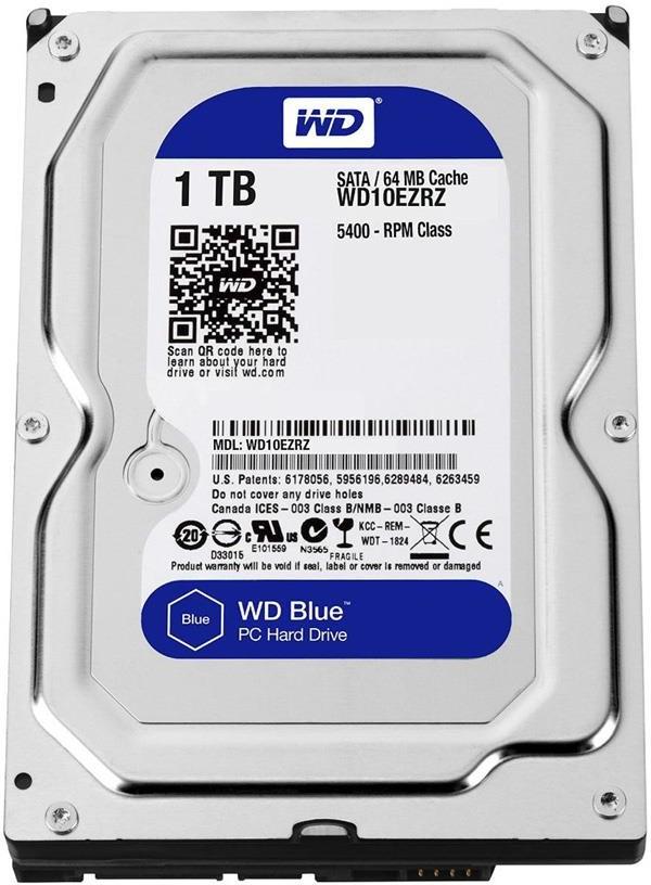 Western Digital Blue 1TB WD10EZRZ