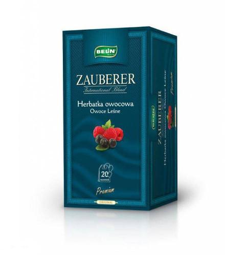Belin Herbata owoce leśne w kopertach (20 szt.) ZAUBERER