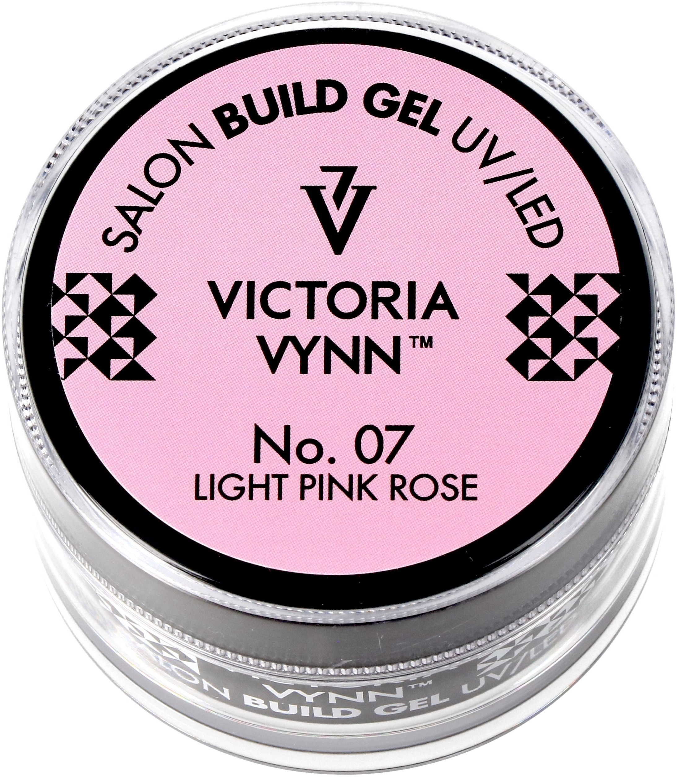 Victoria Vynn Żel budujący Light Pink Rose No.007 - SALON BUILD GEL - 15 ml