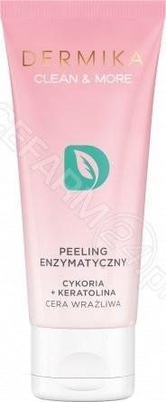 Dermika Clean & More Peeling enzymatyczny cykoria + keratolina cera wrażliwa 75ml