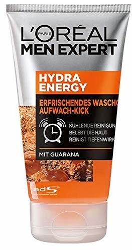 L'Oréal Paris L'Oréal Men Expert Hydra Energy żel do mycia bez mydła, z witaminą C, głębokie oczyszczanie porów (1 x 100 ml)