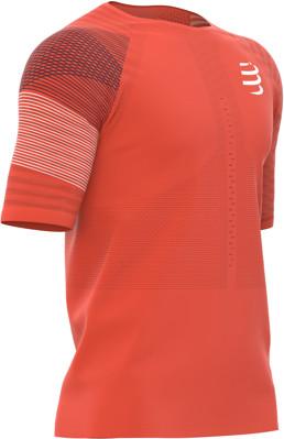 CompresSport koszulka biegowa RACING SS TSHIRT pomarańczowa