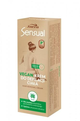 Joanna Sensual wegański krem do depilacji ciała 100g