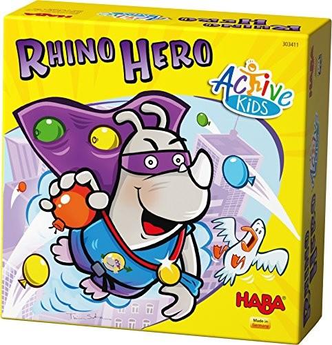 Haba 303411 Rhino Hero, Active Kids kostka do gry