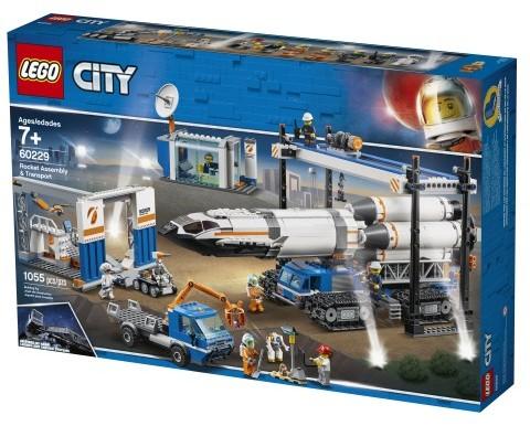 LEGO City Transport i montaż rakiet 60229