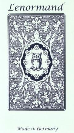 Cartamundi Tarot Mlle Lenormand Blue Owl GB