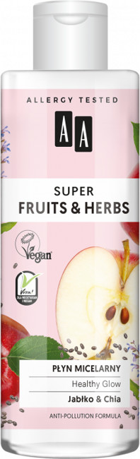 Oceanic Super Fruits&Herbs płyn micelarny jabłko/chia 200ml 52824-uniw