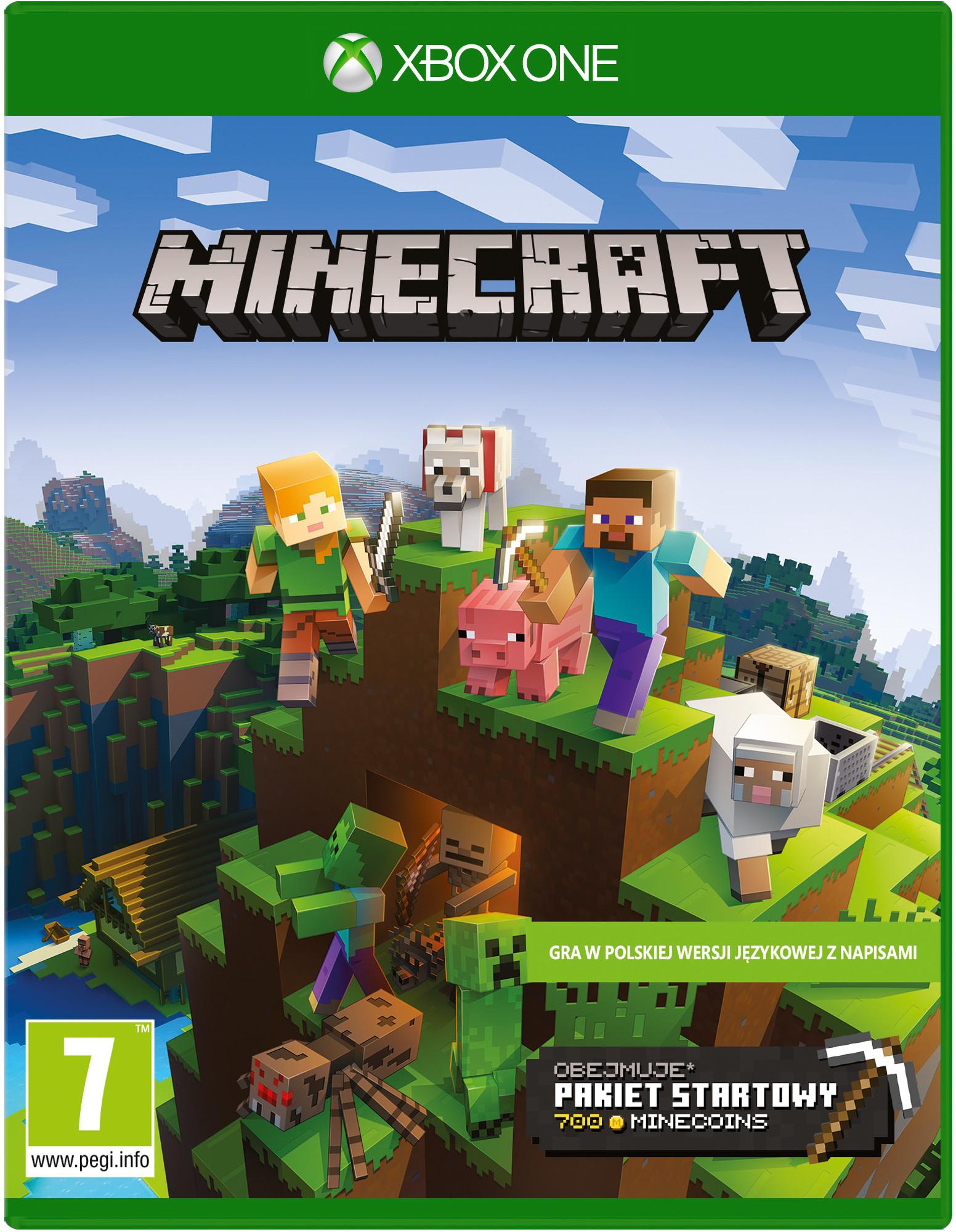 Minecraft Starter Coll (GRA XBOX ONE)