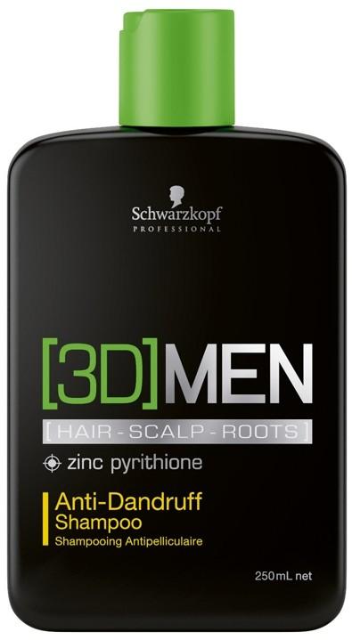 Schwarzkopf 3D MEN SZAMPON PRZECIWŁUPIEŻOWY 250ML