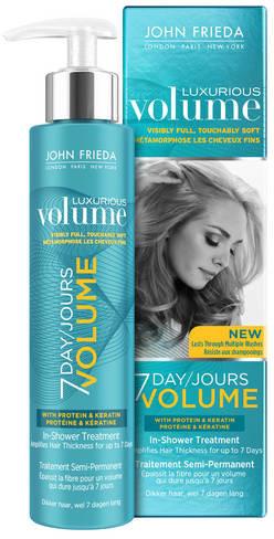 JOHN FRIEDA Luxurious Volume Traitement Semi Permanent Volume 7 Jours