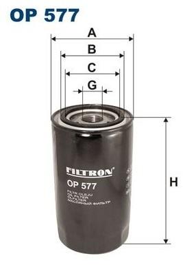 Filtron OP 578 FILTR OLEJU