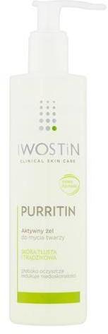 SANOFI Iwostin Purritin aktywny żel do mycia twarzy 300 ml