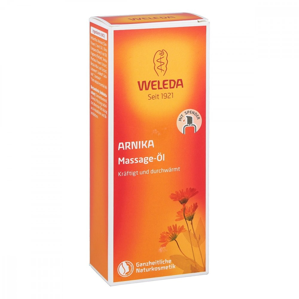 Weleda AG Arnika Massageöl 100 ml