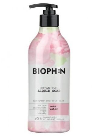 BIOpha Organic Żel pod prysznic Biophen Botanical 400 ml Rose   Darmowa dostawa od 59 zł NN-KBI-G400-001